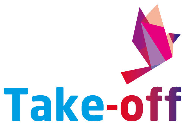 Take-off logo