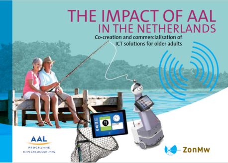 Image of the cover of the publication 'The impact of AAL in the Netherlands'