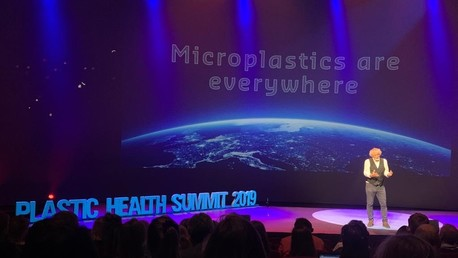 dick vethaak op de plastic health summit